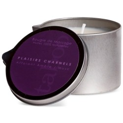 TABOO MASSAGE CANDLE AMBER/MUSK 160GR