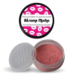 BÉSAME MUCHO EDIBLE POWDER WITH GLITTERY PARTICLES