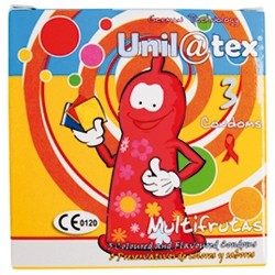 MULTI-FRUITS CONDOMS 3 UNITS